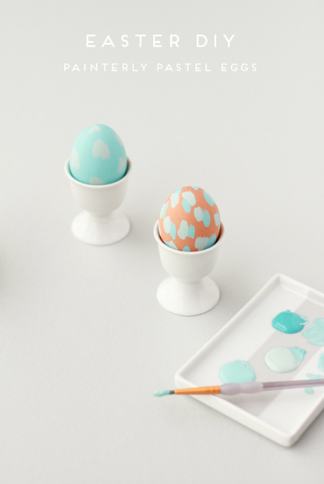 Painterly Pastel Eggs