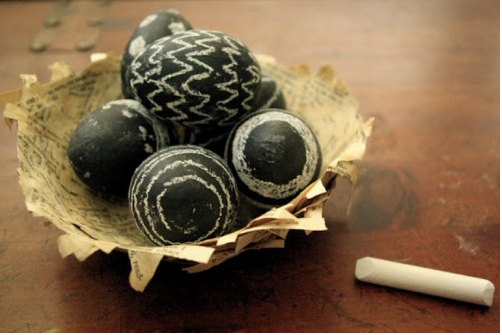 Chalk Board Eggs