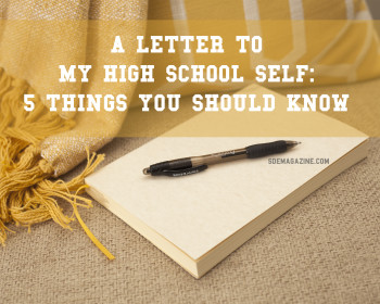 A Letter To My High School Self: Melinda