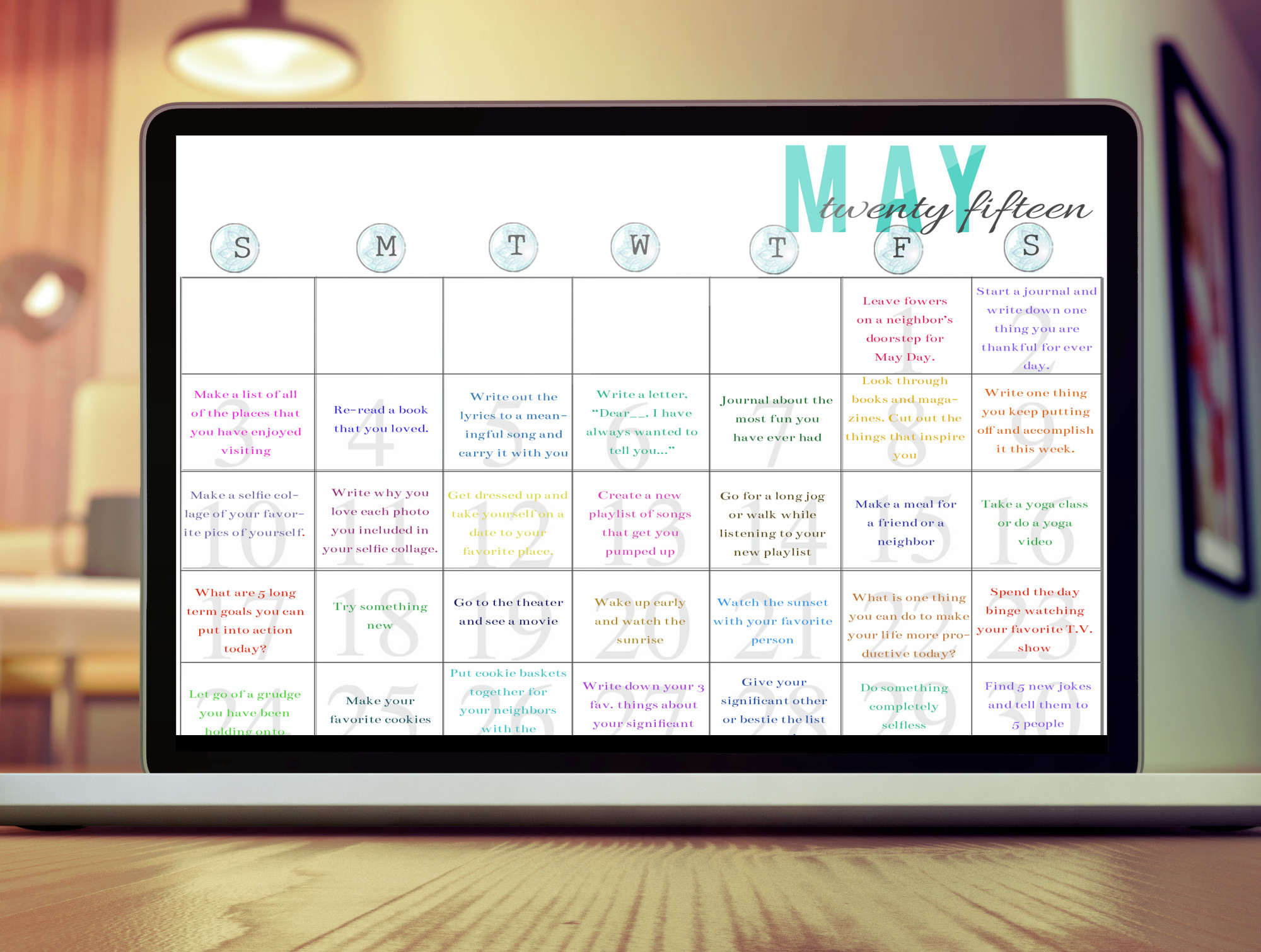 Challenge-A-Day in May