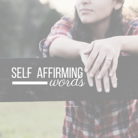 Self Affirming Words