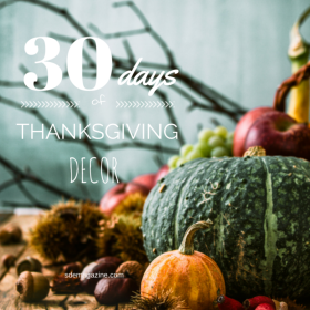 30 Days Of Thanksgiving: Decor