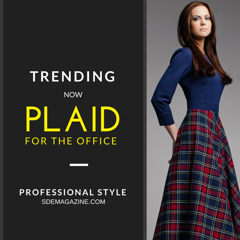 Trending: Office Plaid