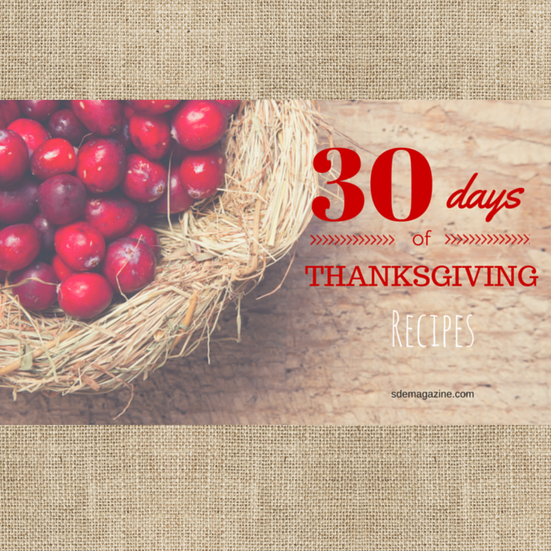 30 Days of Thanksgiving: Recipes