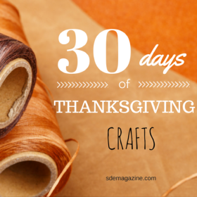 30 Days of Thanksgiving: Crafts