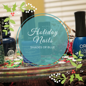 Holiday Nails: Shades Of Blue