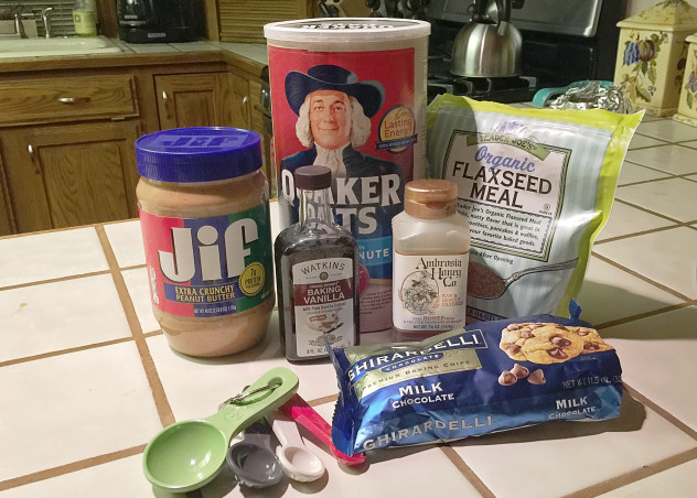 No bake energy bites ingredients