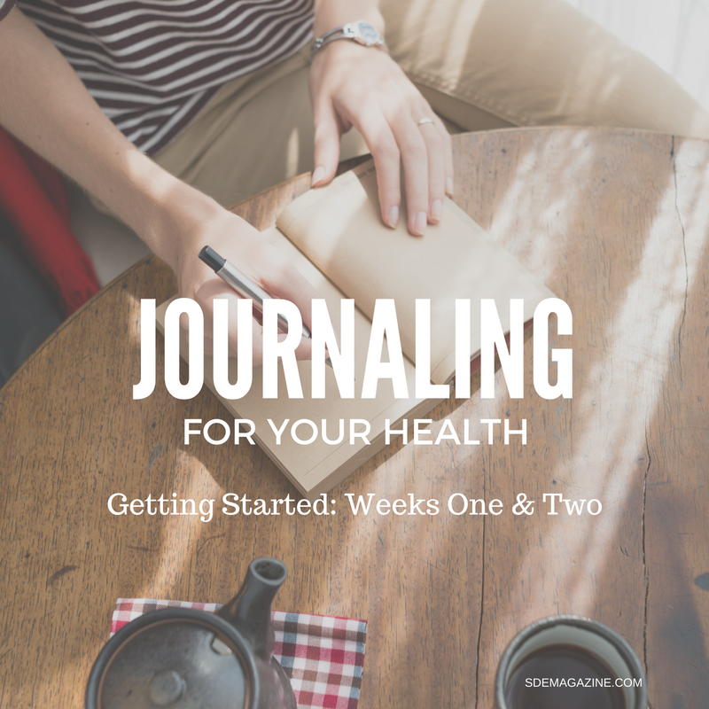 Journaling For Your Health: Getting Started