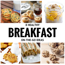 8 Healthy Breakfast-On-The-Go Ideas