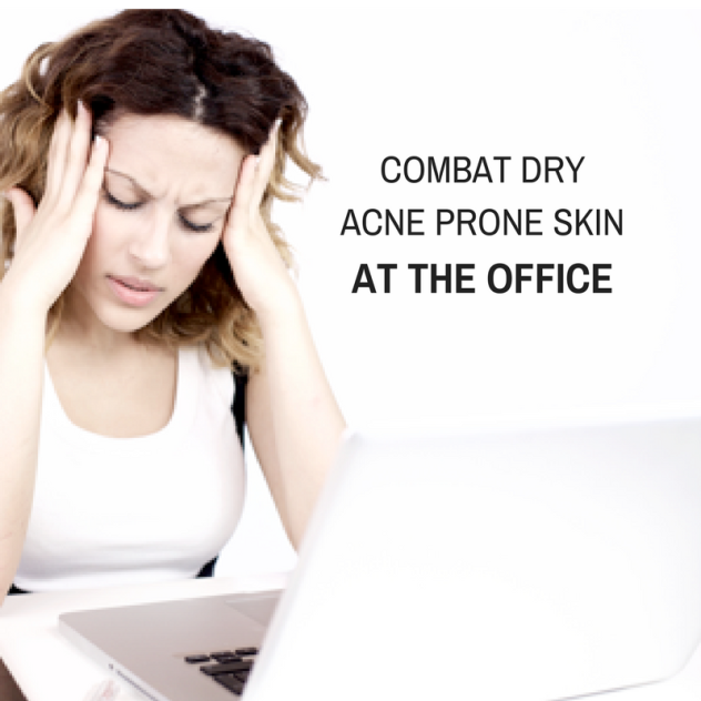 DRY SKIN IN THE OFFICE
