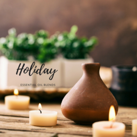Holiday Essential Oil Blends