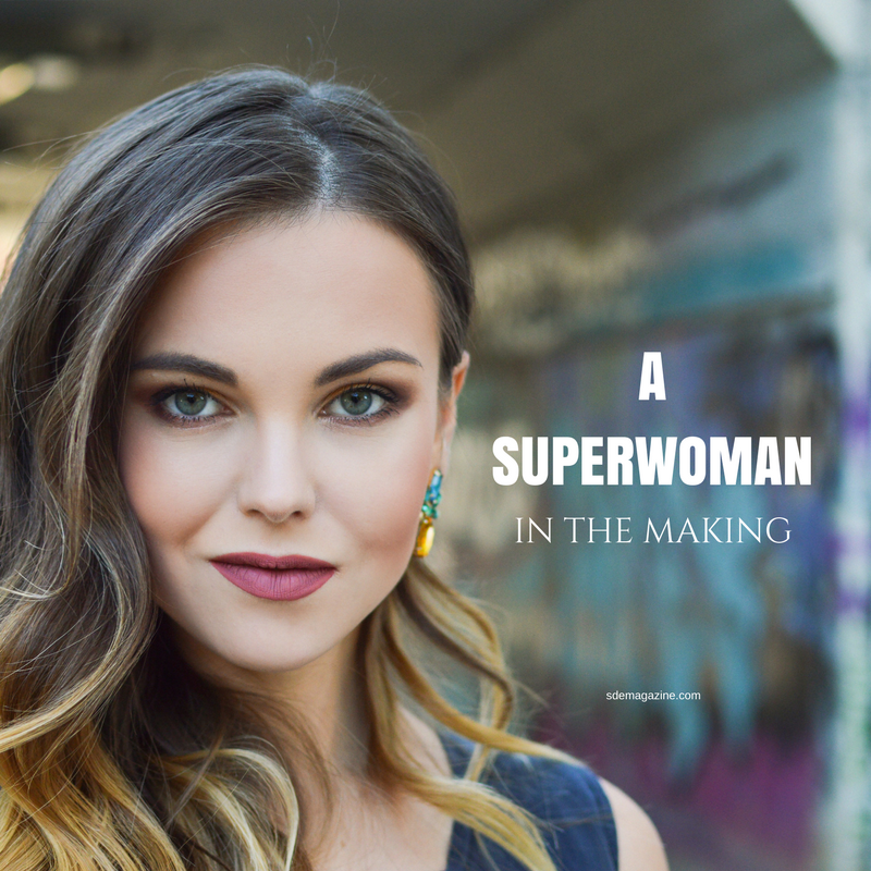 A Superwoman In The Making