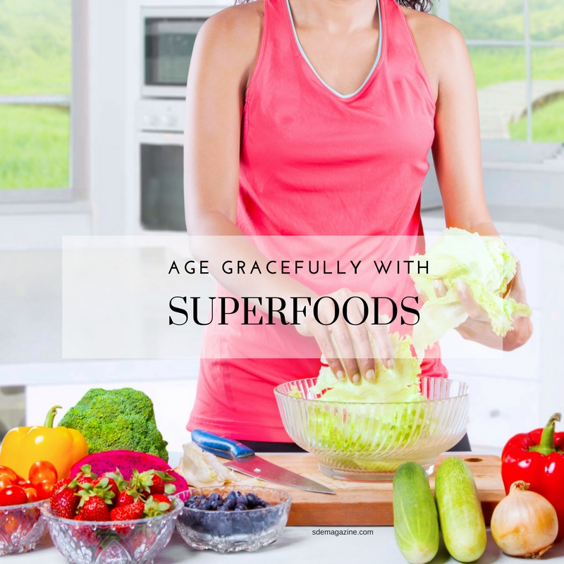 Age Gracefully With Superfoods